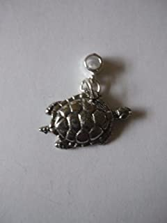 Turtle W15 charm con foro 5 mm Fit ciondolo charm braccialetto Posted by US Gifts For All 2016 from Derbyshire UK