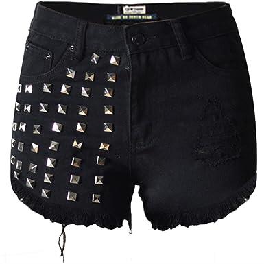 Amazon Fitness En Jean Short Femme Mode Et Vetement t4RwFnOq