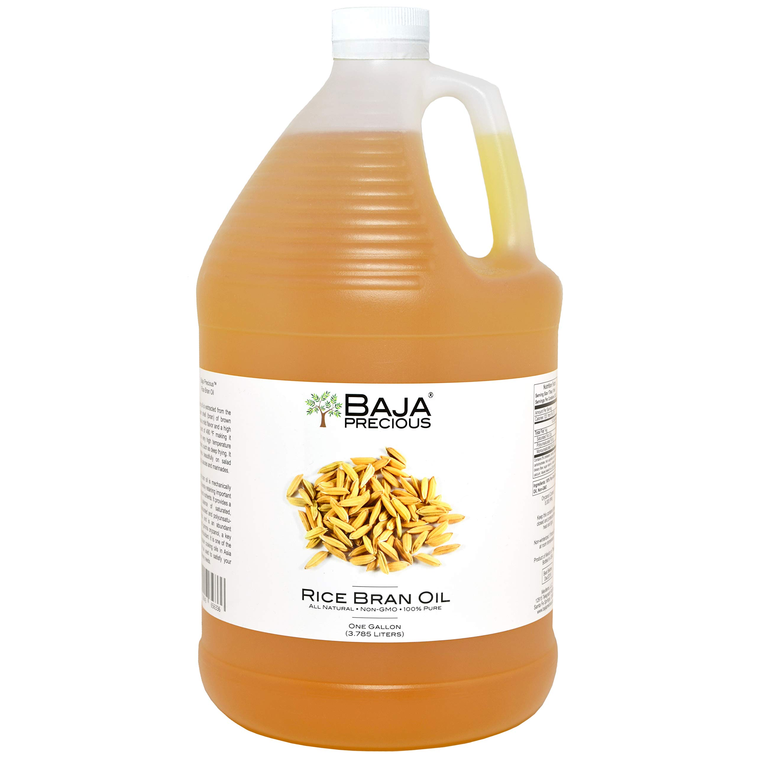 Baja Precious - Rice Bran Oil, 1 Gallon