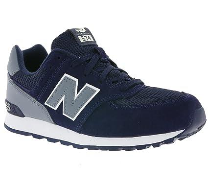 d7320def300d6 Amazon.com: New Balance 574 Boys Sneakers Blue: Clothing