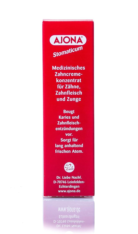 Amazon Com Ajona Stomatikum Toothpaste 25ml Toothpaste By Ajona