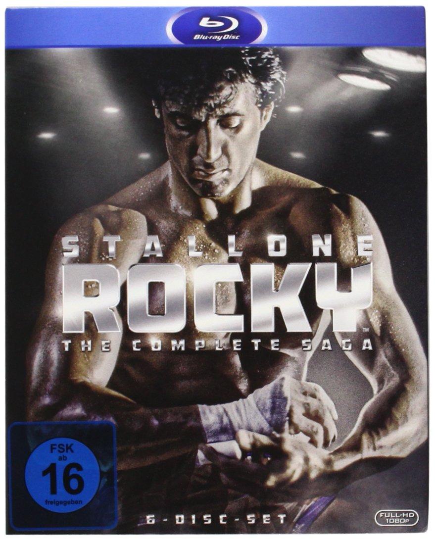 Rocky - Complete Saga [Alemania] [Blu-ray]: Amazon.es: Stallone, Sylvester, Stallone, Sylvester: Cine y Series TV