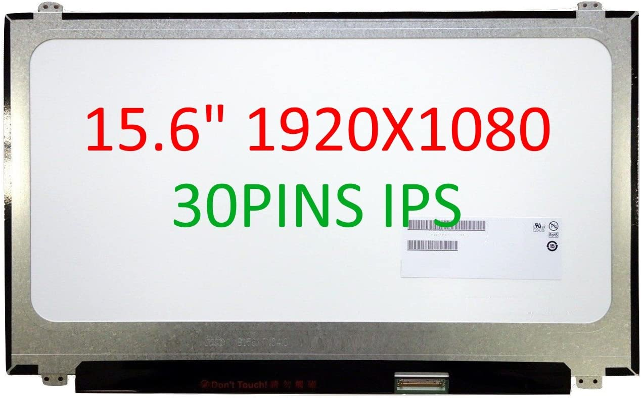 """FULLCOM New 15.6"""" Gaming Screen Compatible with MSI GT62 GE63 GS63VR 7RG-078US MSI GP63 Leopard 8RE Laptop LED LCD Replacement IPS 120HZ Full HD 1080P"""