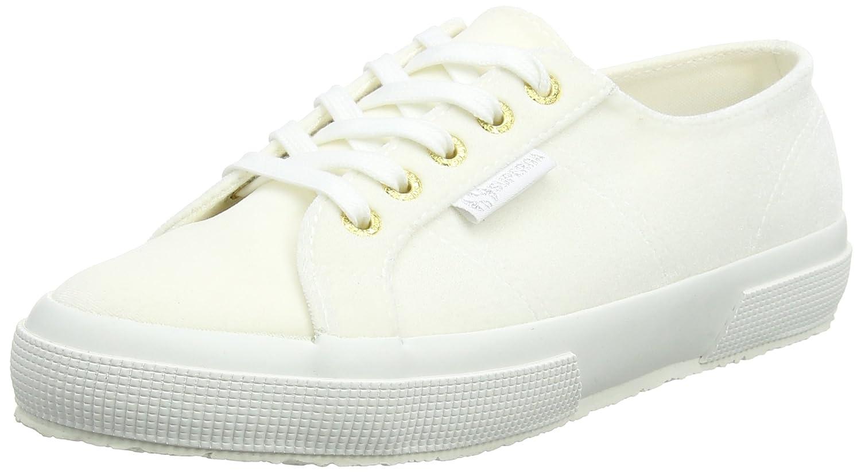Superga 2750 Polyvelvtw, Zapatillas para Mujer 37 EU|Wei (White)