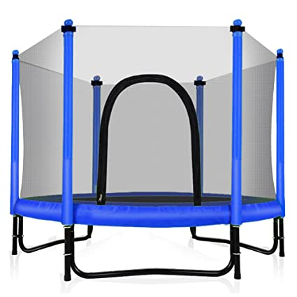 Amazon Fashionsport OUTFITTERS Trampoline With Safety