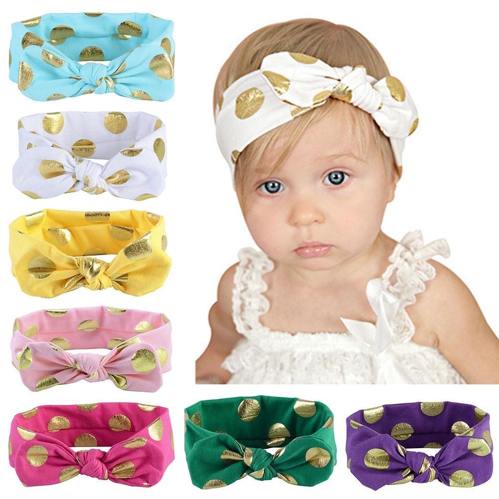 3 x Baby Haarbänder Stirnbänder 1Preis von 0-24 Monate NEU