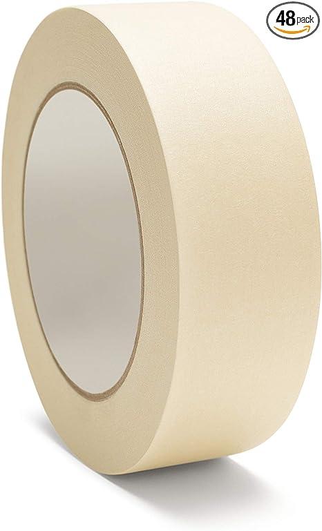 Masking Tape General Purpose 1/'/' x 60 yds 24MM 36 Rolls Per Case