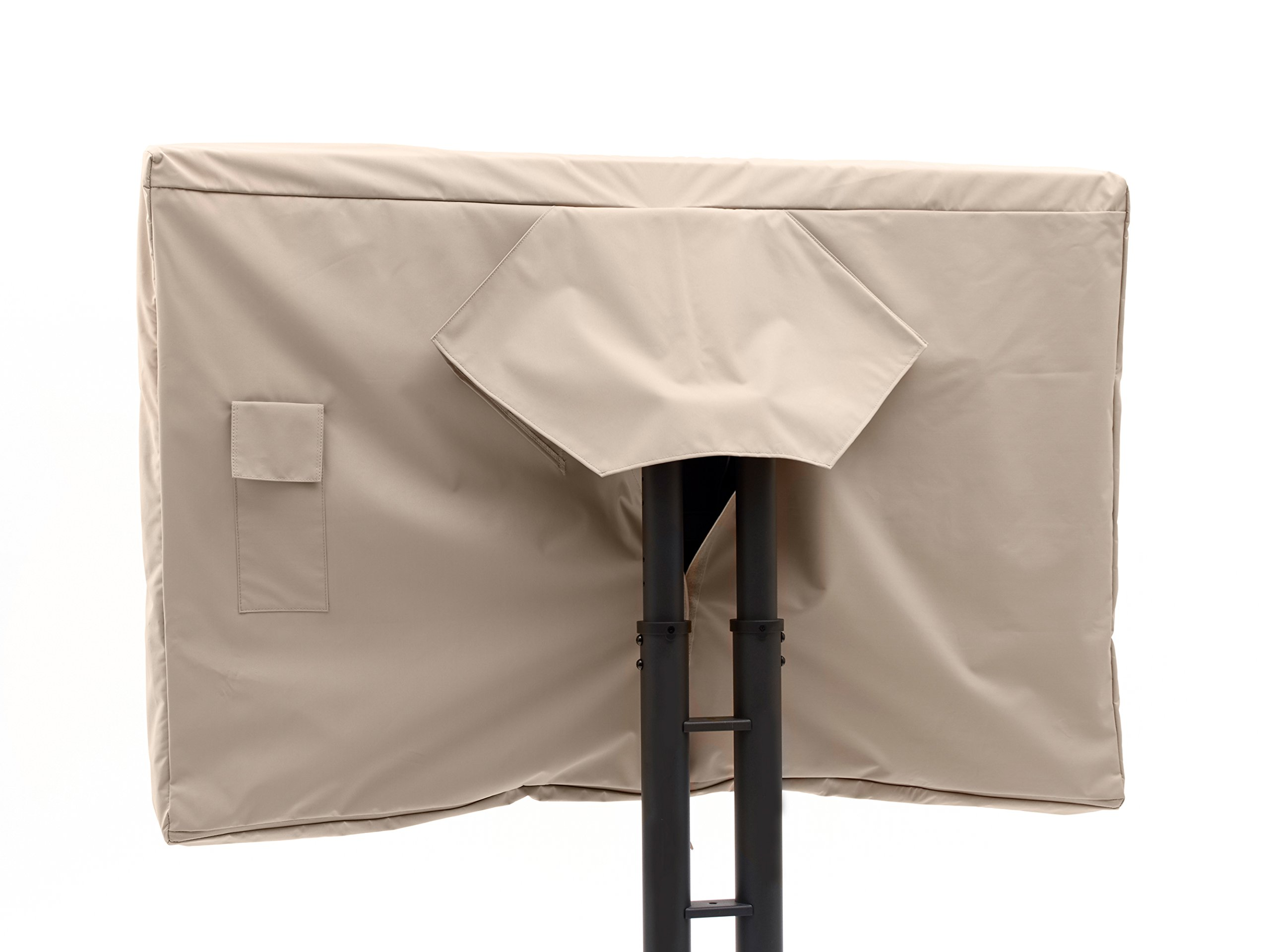 CoverMates Heavy Duty All Weather Protection- Outdoor Full TV Covers- Fits 55 to 59 inch TVs- 2 Year Warranty- Ultima- Tan