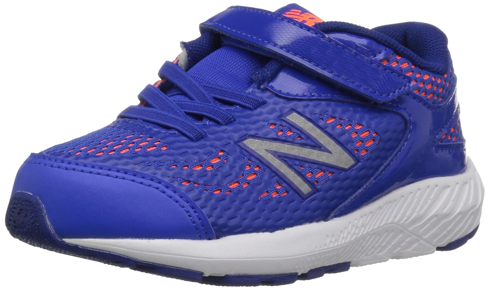 New Balance Boys' 519v1 Hook and Loop Running Shoe Pacific/Dynomite 2 M US Infant