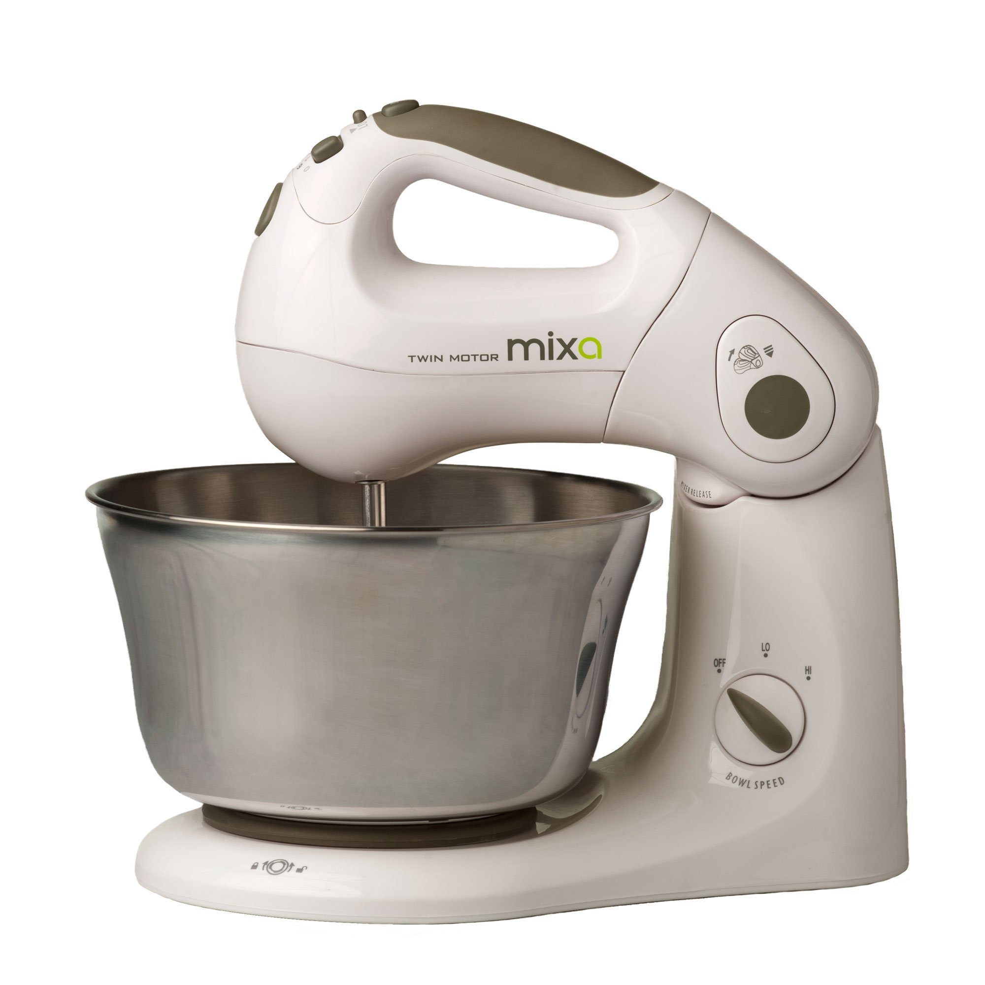 ''Mixa'' Powerful Patented Twin Motor 10 Speed Stand and Hand Mixer