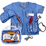 Vet Costume for Kids - Kids Vet Set - Vet Toys - Role Play - Pretend Play Clothes with Case by Tigerdoe