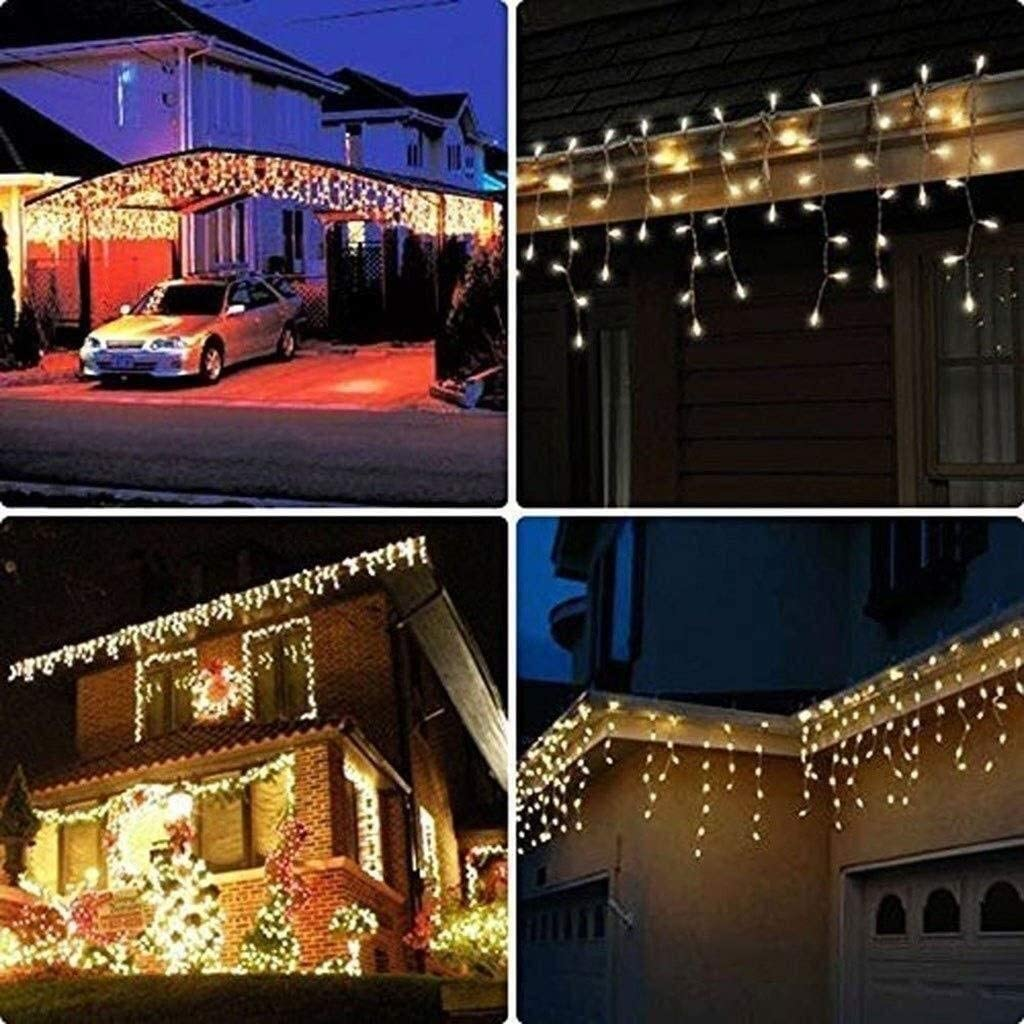 ZBM-ZBM LED Lichterketten, Low Voltage, Dekoratives String Licht For Home Party-Geburtstags-Gartenfest Hochzeit Weihnachten Indoor Outdoor Nutzung Lichterketten (Color : Colorful-30m*300leds) Warm White-100m*2000leds