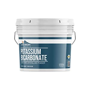 Potassium Bicarbonate (1 Gallon, 10 lbs,) by Earthborn Elements, Highest Purity, Food and USP Pharmaceutical Grade