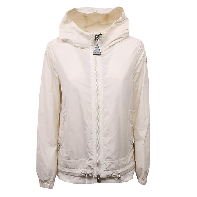 Moncler - Abrigo - para mujer blanco perla (ral 1013) 42 : Amazon.es: Ropa y accesorios