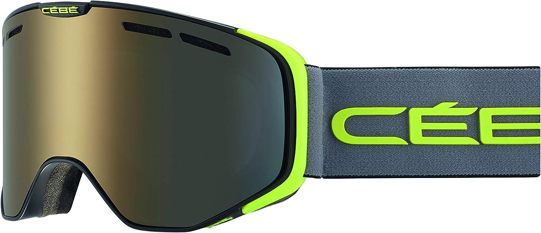 Matt Black Grey Lime Bolle Unisexs Versus Goggles Large