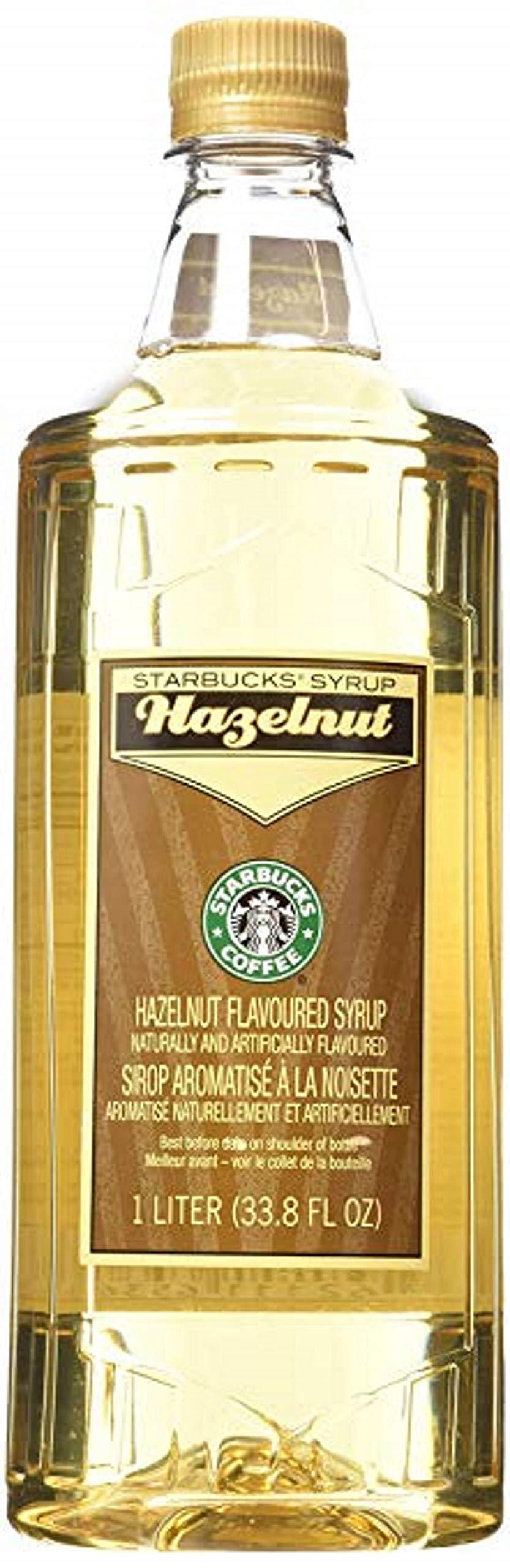 Starbucks Flavored Syrup (Hazelnut, 1 Bottle Pack)