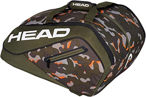 Head Camo Ltd Paletero de Tenis, Blanco, S: Amazon.es: Deportes y ...