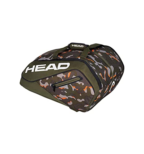 Head Camo Ltd Paletero de Tenis, Blanco, S
