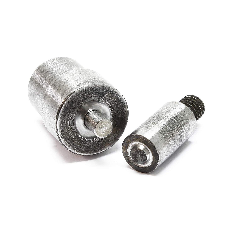 Punzone Inserto per Occhiellatrice Torchietto manuale Pressa occhielli 6mm WilTec