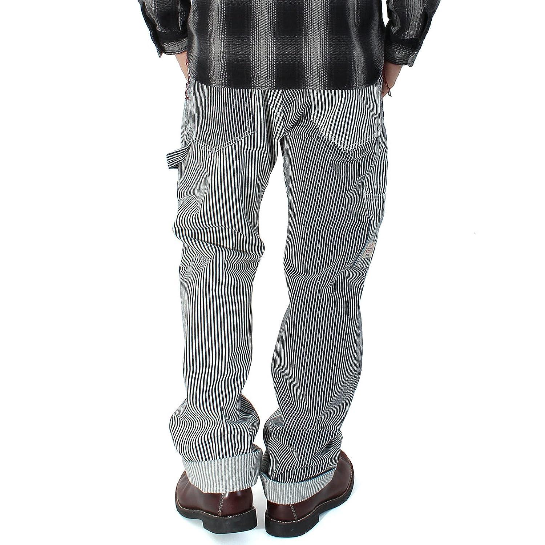 KOJIMA GENES(児島ジーンズ) ヒッコリー マルチストライプ ワークパンツ メンズ ワーク パンツ B01KZGP6VQ 40