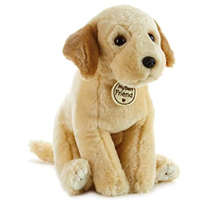 Hallmark My Best Friend Large Labrador Retriever Dog Plush Stuffed Animal: Toys & Games