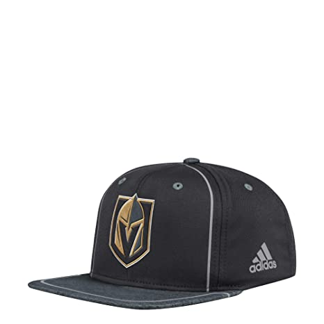 Image Unavailable. Image not available for. Color  adidas Vegas Golden  Knights Adjustable Snapback Bravo Hat 872e9257c