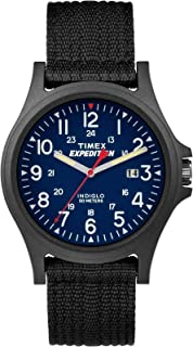 Timex TW4999900 Expedition Acadia Mens Watch Black 40mm Resin