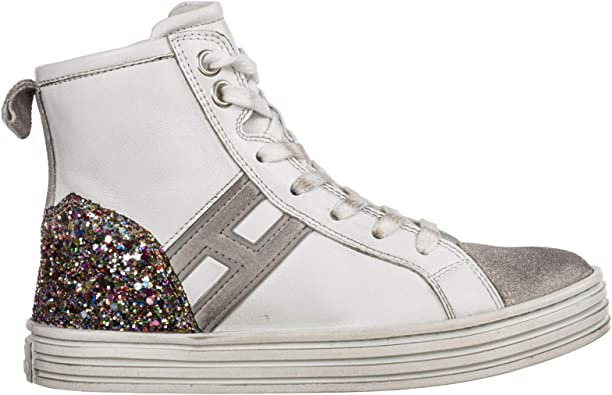 the latest price reduced genuine shoes Amazon.com | .Hogan Baby R141 high-top Sneakers Bianco 3 US Child ...
