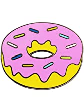 Real Sic Emoji Pin - Donut Pin by Kawaii Lapel Pin - Simpsons Fan Made Enamel Pin