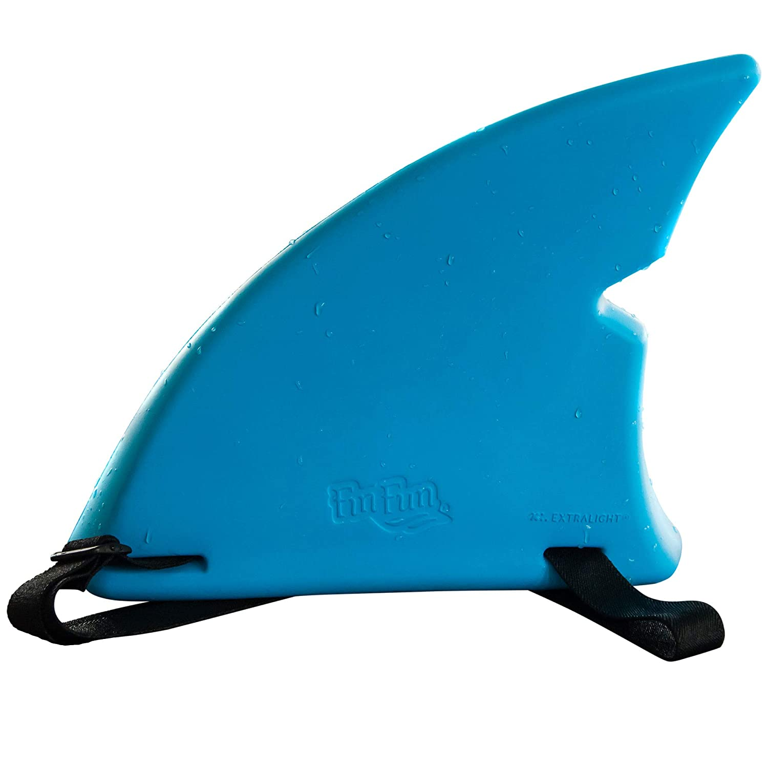 Shark Fin for Swimming and Costume by Fin Fun - Blue