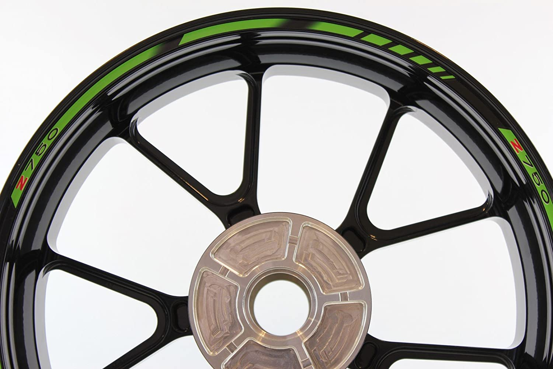 Bandas adhesivas SpecialGP Moto Kawasaki Z750 Verde