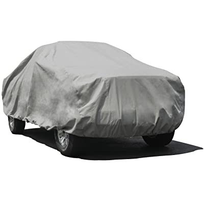 Budge Duro 3 Layer Truck Cover, Water Resistant, Scratchproof, Dustproof Cover, Fits Trucks up to 22', Gray: Automotive