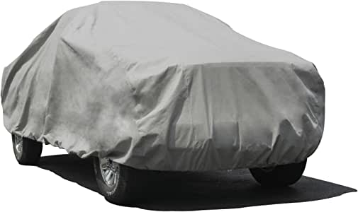 Budge Max Truck Cover Fits Truck with Long Bed Standard Cab Pickups up to 228 inches, TMX-4 - (Endura Plus, Gray)