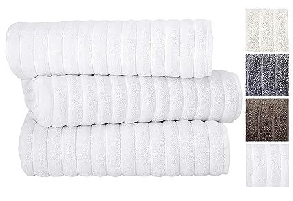 Amazoncom Classic Turkish Towels 3 Piece Luxury Bath Sheet Set