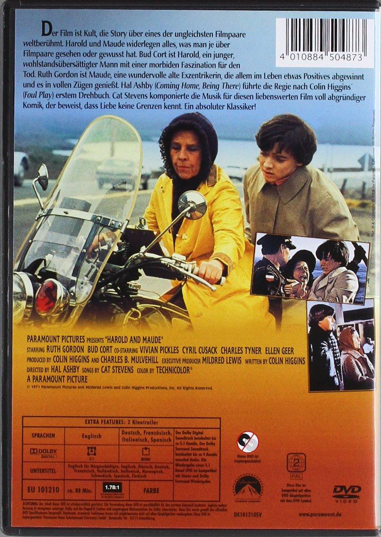 Harold und Maude [Alemania] [DVD]: Amazon.es: Bud Cort ...