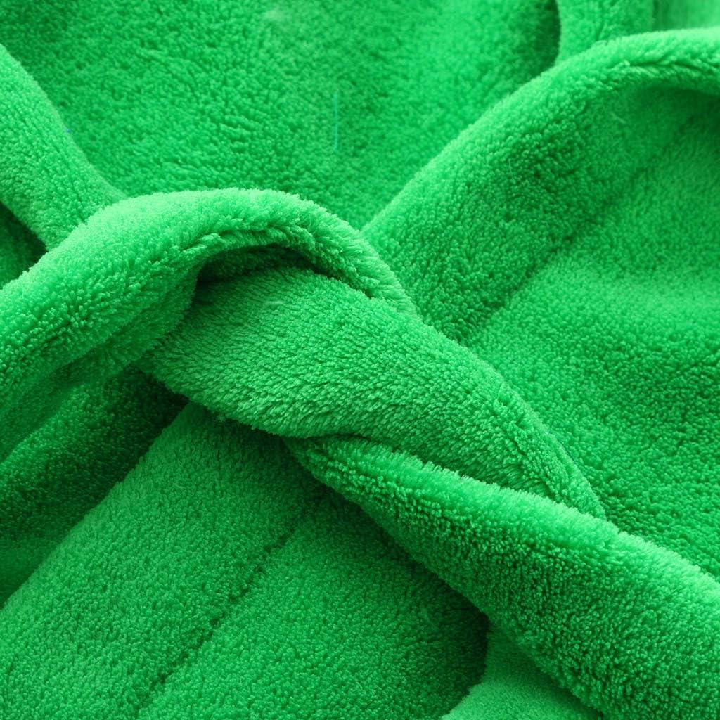 Jungen /& M/ädchen Unisex Bademantel Weiches Baumwolle Pl/üsch Schlafanz/üge mit Kapuze Bademantel und Badetuch Schuhe im Lustigen Tier-Designs