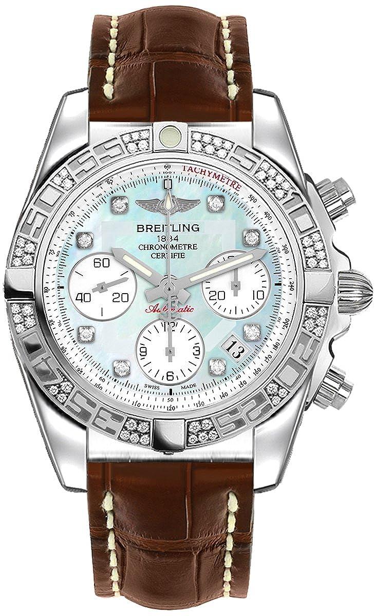 Breitling Chronomat 41ダイヤモンド時計ab0140aa / g712 – 725p B07CGWQ4N2