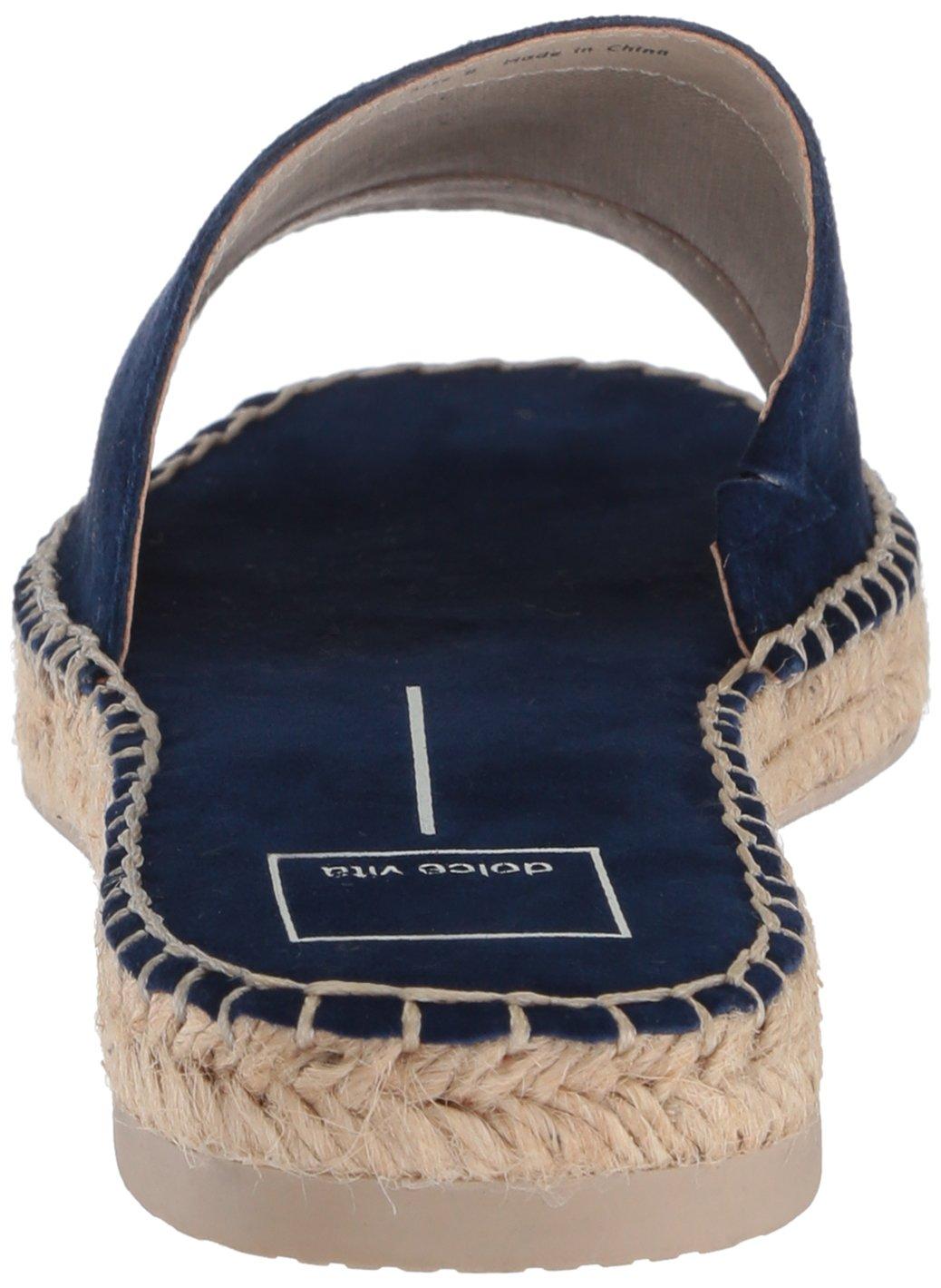 Dolce Vita Women's Bobbi Slide Sandal B077QTN1XC 9.5 B(M) US Navy Suede