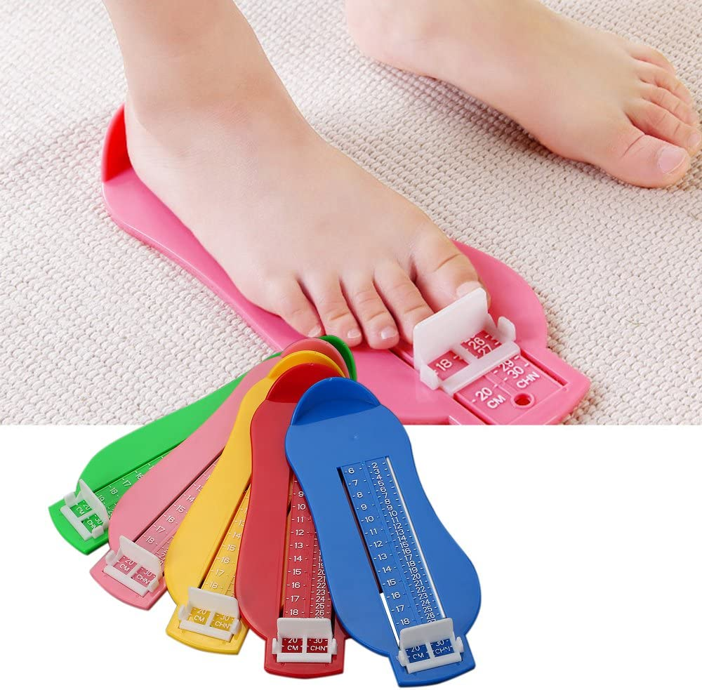 TH/_ BH/_ Toddlers Foot Measure Gauge Baby Shoes Fitting Size Measuring Ruler Tool