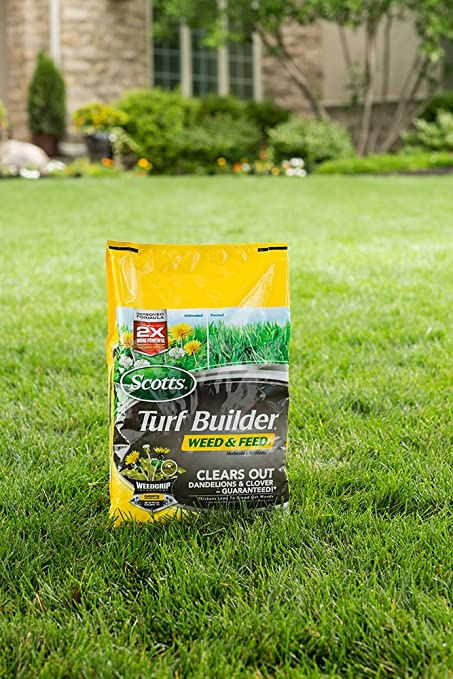 Amazoncom Scotts Turf Builder Weed and Feed Fertilizer 5M Not