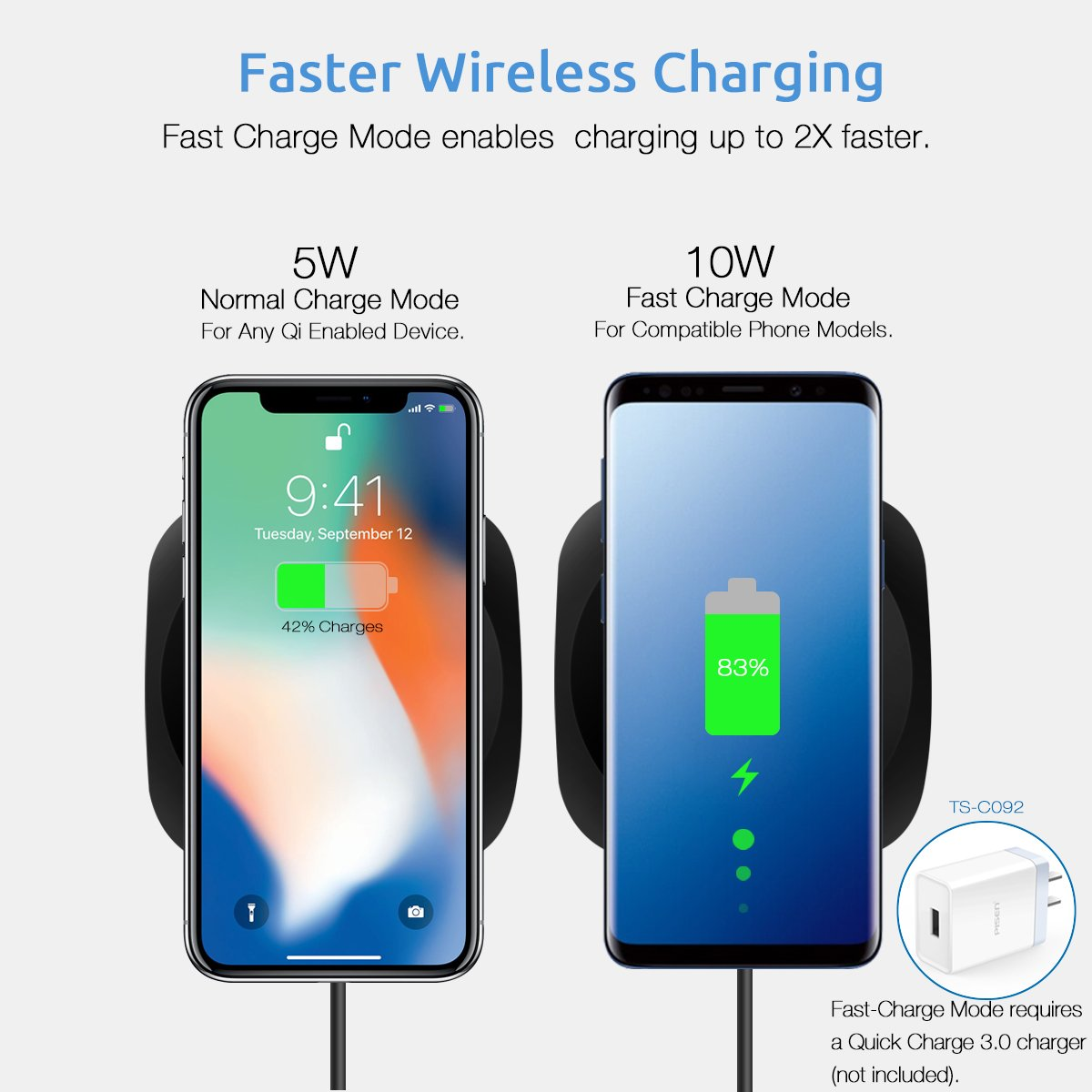 PISEN Wireless Charger