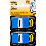 Post-it Standard Page Flags in Dispenser  1in Wide, Blue 100 Flags, 680-BE2