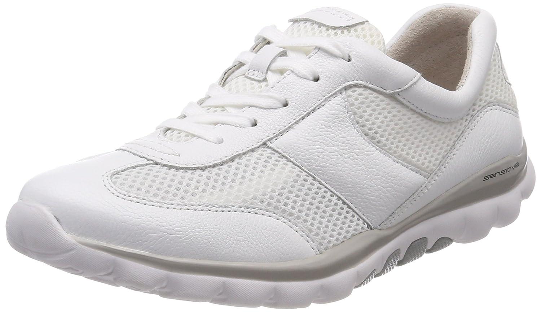 Gabor Shoes Rollingsoft, Zapatos de Cordones Derby para Mujer 35.5 EU|Blanco (Weiss)