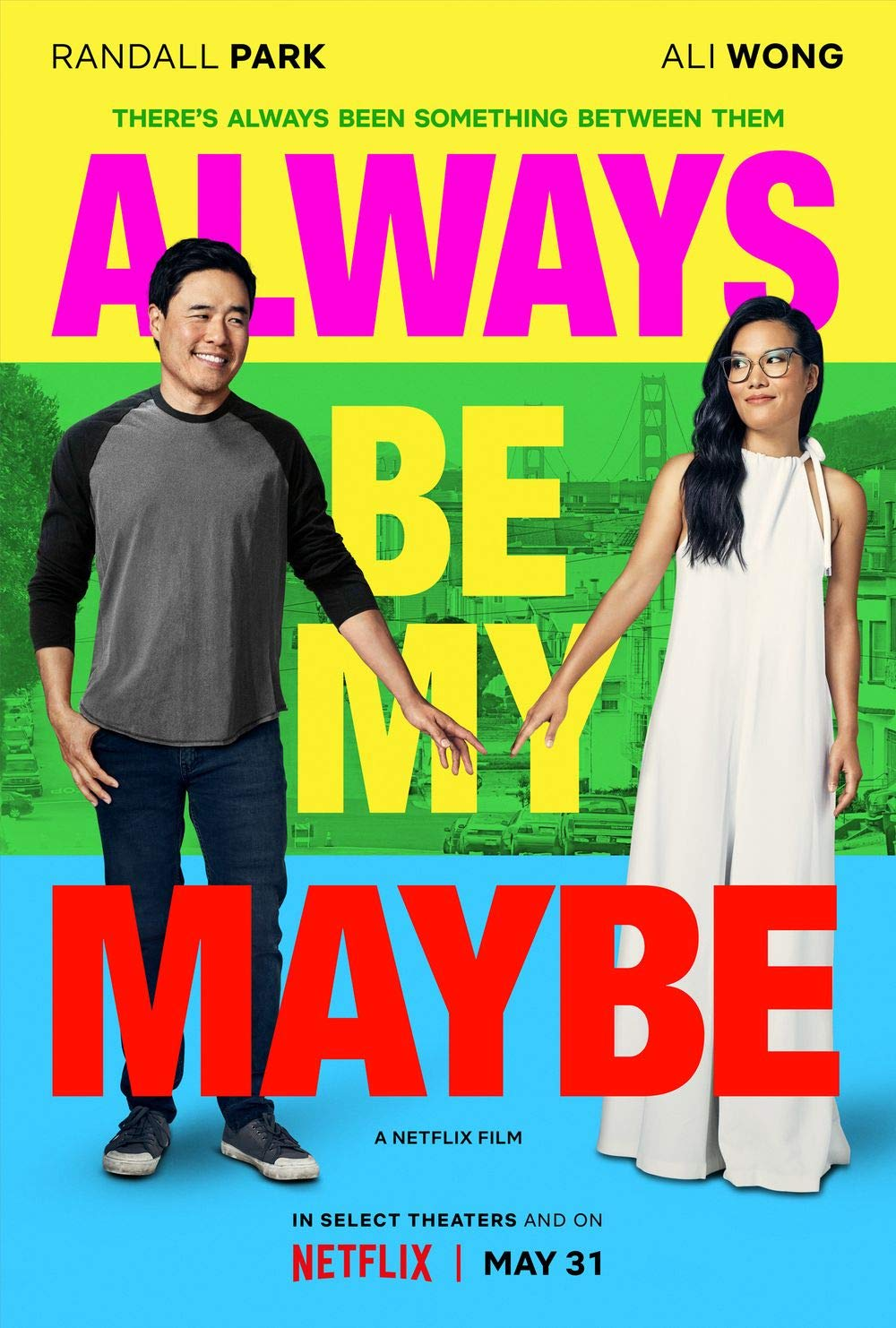 Lionbeen Always Be My Maybe Movie Poster Cartel de la ...