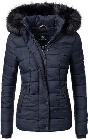 marikoo damen winter jacke steppjacke unique 8 farben xs xxl  bekleidung damen jacken c 1_7 #6