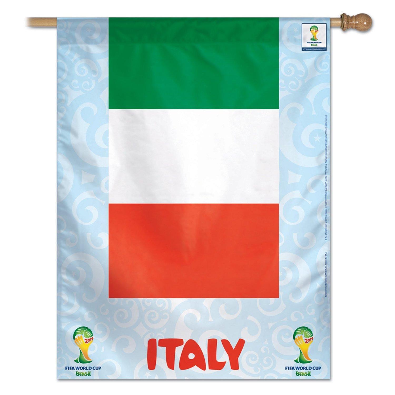 Italy National Soccer Team Vertical Flag 27'' x 37''