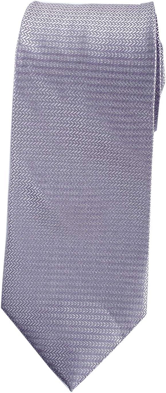 "Extra Long Microfibre Necktie Purple  Woven Jacquard Polyester XL Men/'s Tie 63/"""