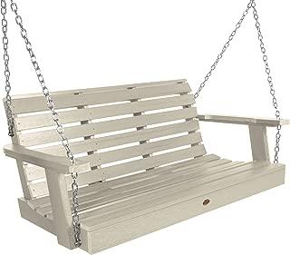 product image for Highwood AD-PORW2-WAE Weatherly Porch Swing, 4 Feet, Whitewash