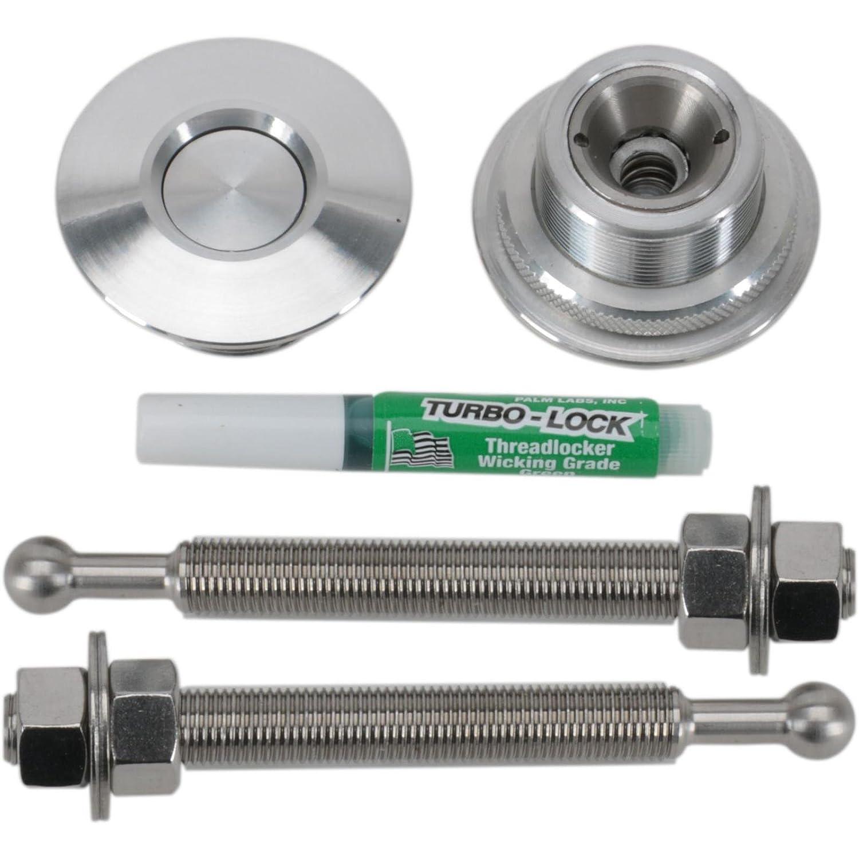 Machined Aluminum QL-38-LP Quik-Latch Hood Pin Kit