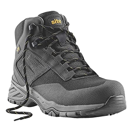 a7810e6c812 Site Magma Metal-Free Safety Boots Black Size 8: Amazon.co.uk: DIY ...